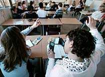 Eleverna får bara en tredjedel av lärarnas tid, visar en ny undersökning.