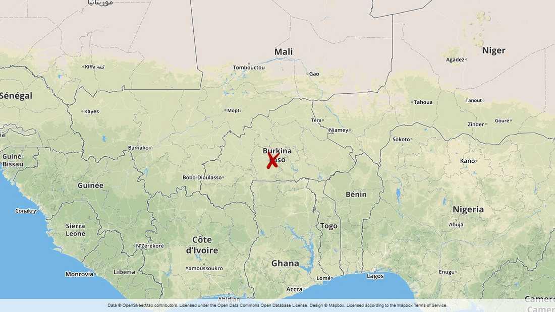 En person saknas fortfarande efter den våldsamma attacken i Burkina Faso.