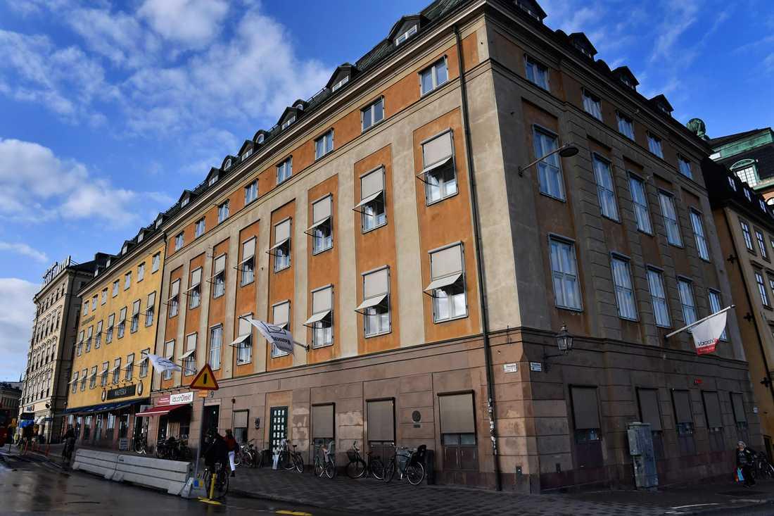PRO:s huvudkontor i Stockholm
