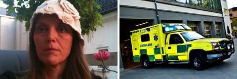 """Lena Anderssons 15-årige son misshandlades: """"Ambulanspersonalen hånskrattade åt honom""""."""