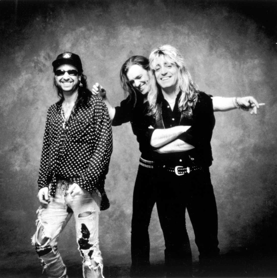 Motörhead, Lemmy Kilmister i mitten. Odaterad arkivbild.