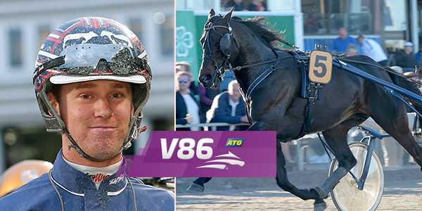 Anders Eriksson och Track Angle spikas på V86 från Eskilstuna.