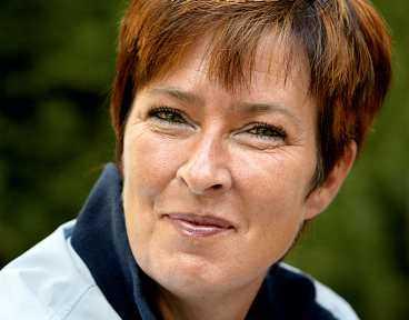 miljöministern Mona Sahlin trivs och vill inte flytta på sig.