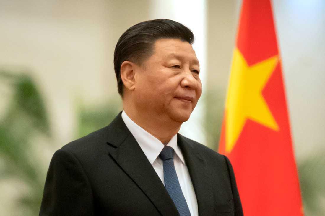 Kinas president Xi Jinping. Arkivbild.