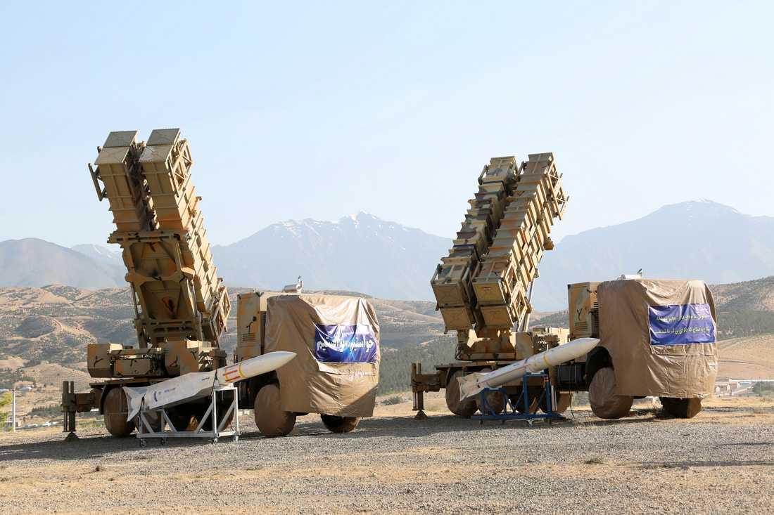 Khordad 15, ett nyutvecklad robotsystem.