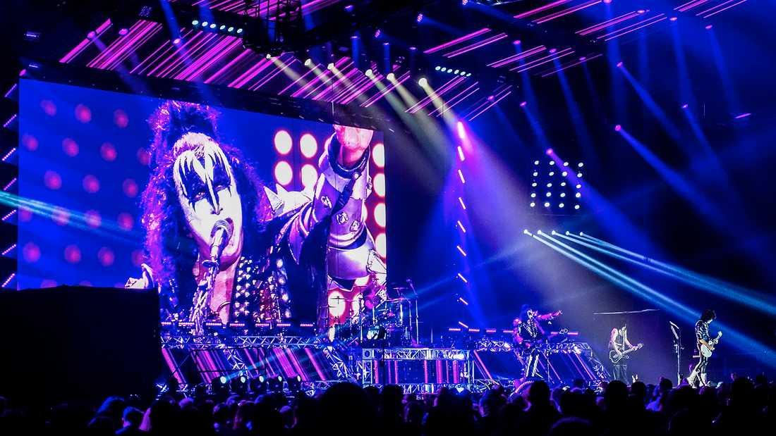 Kiss på Tele 2 arena.