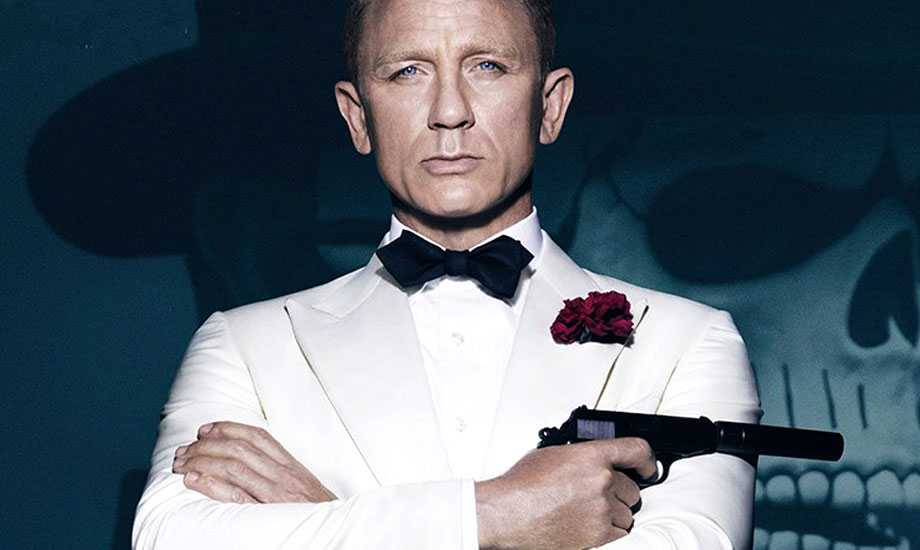 "Daniel Craig som Bond i ""Spectre"""