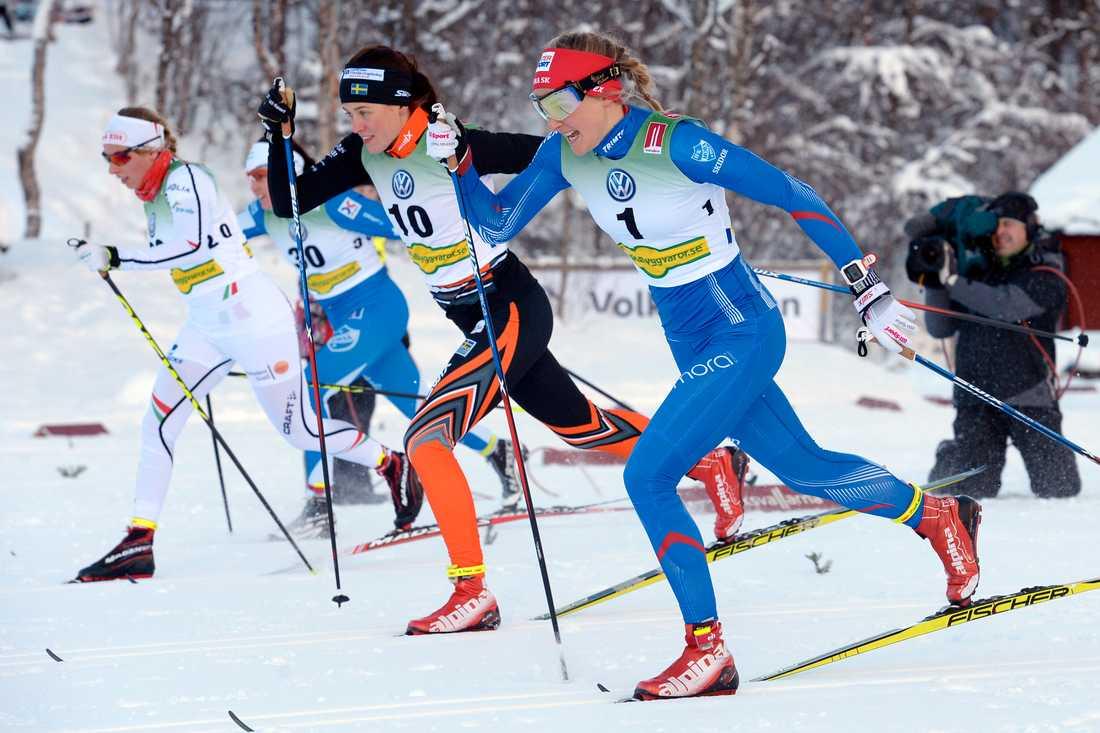Anna Dyvik och Stina Nilsson.