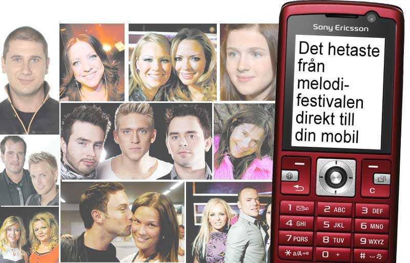 För bara 5 kronor i veckan kan du få Nöjesbladets schlagerbevakare direkt i din mobil.