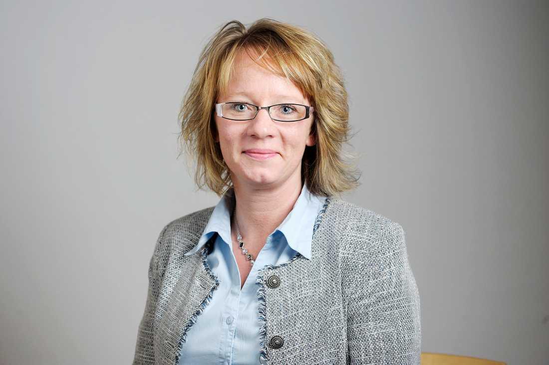 Carina Herrstedt, andra vice ordförande i partiet samt ordförande i kvinnoförbundet.
