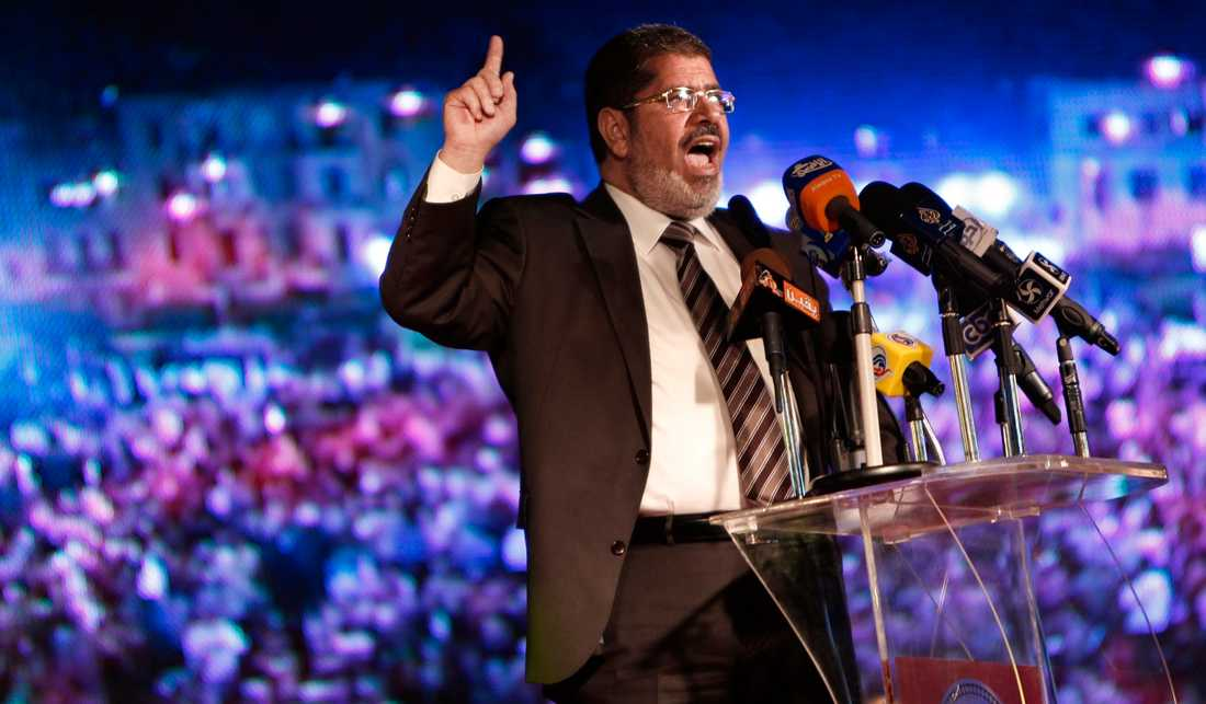 Muhammad Mursi vann presidentvalet i Egypten.