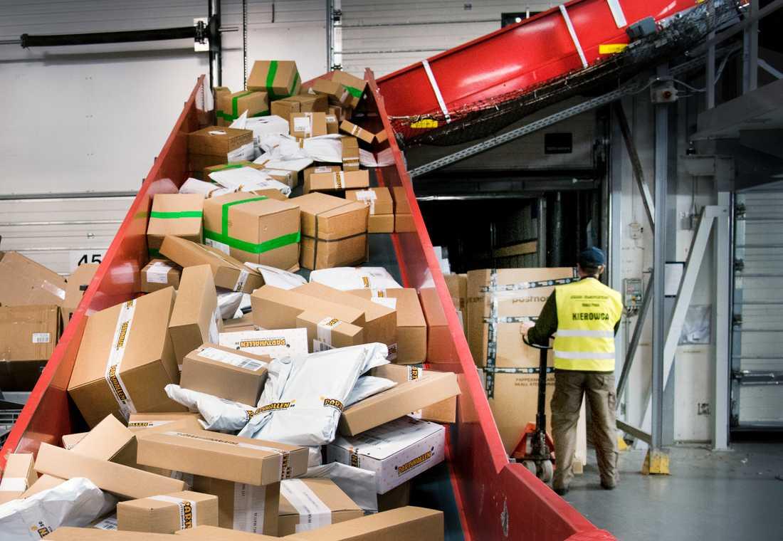Postnord förväntas slå rekord i julhandeln i år.