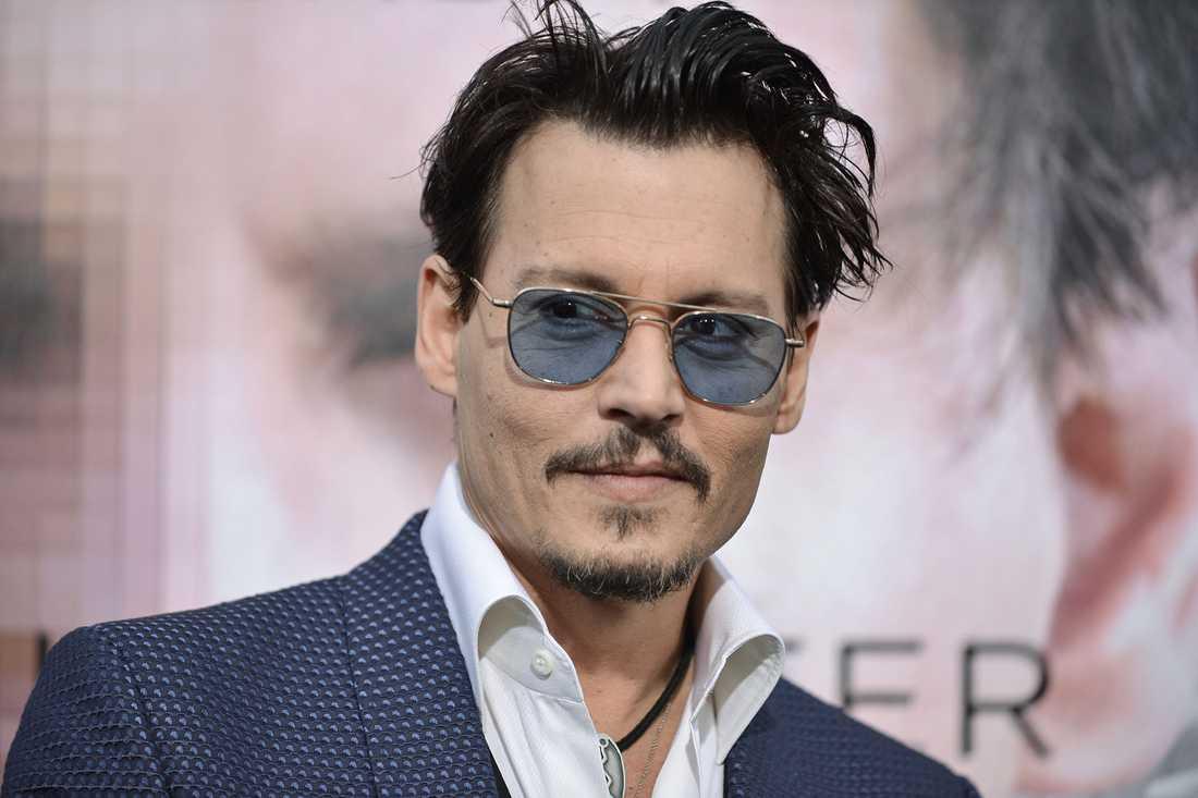 """Johnny Depp ska vara med i """"Mordet på Orientexpressen""""."""
