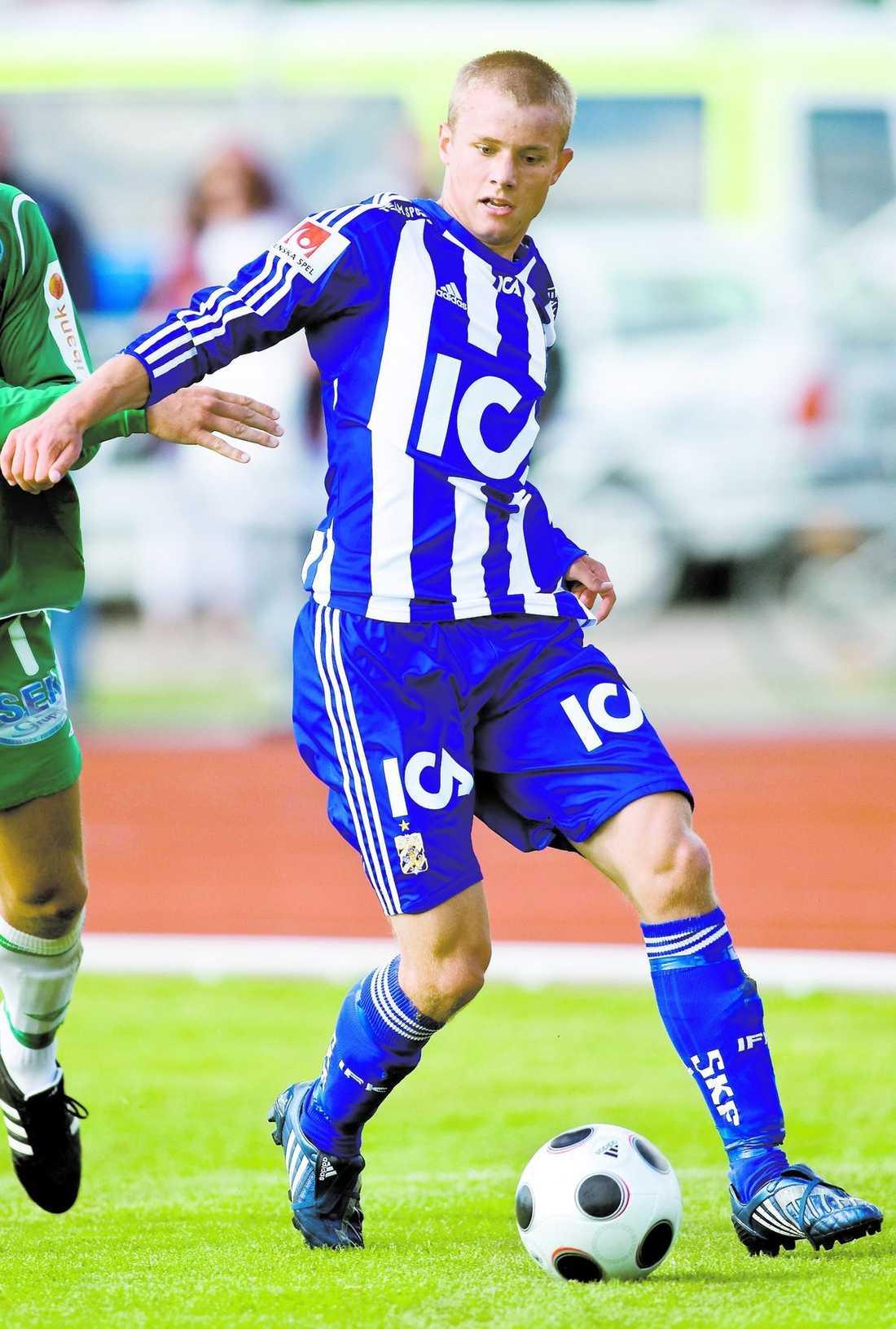 Robin Söder fick hoppa in i går och hans allsvenska debut kommer allt närmare.