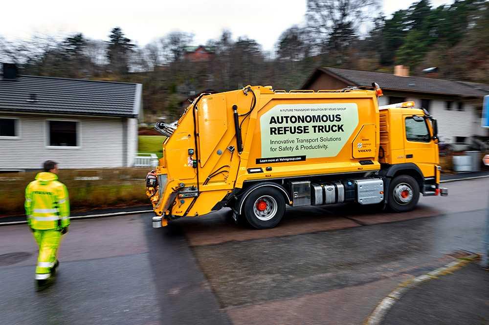 Volvos projekt med Renova om självkörande sopbilar är inne i sin slutfas i Göteborg.