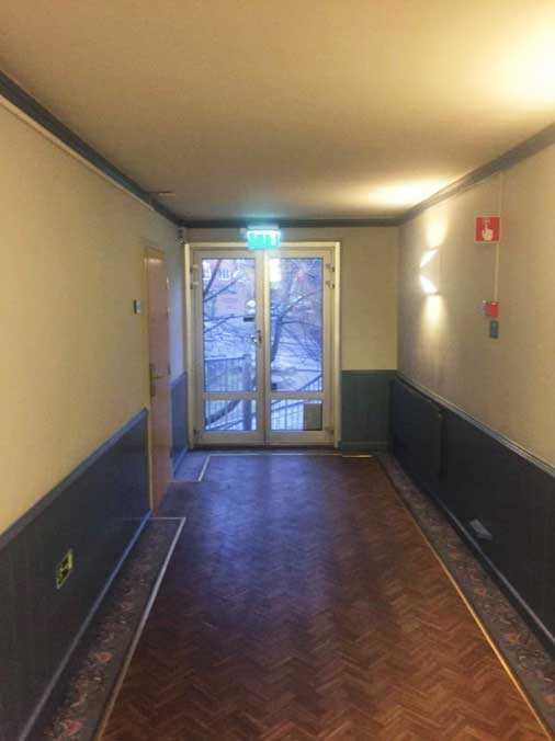 Sonja Sabas Costich hittades mördad på ett hotell i Bromma utanför Stockholm.