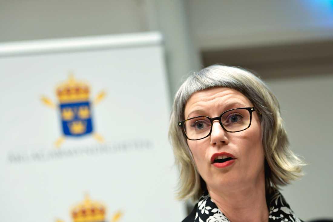 Liselott Herschend är åklagaren i målet. Arkivbild.