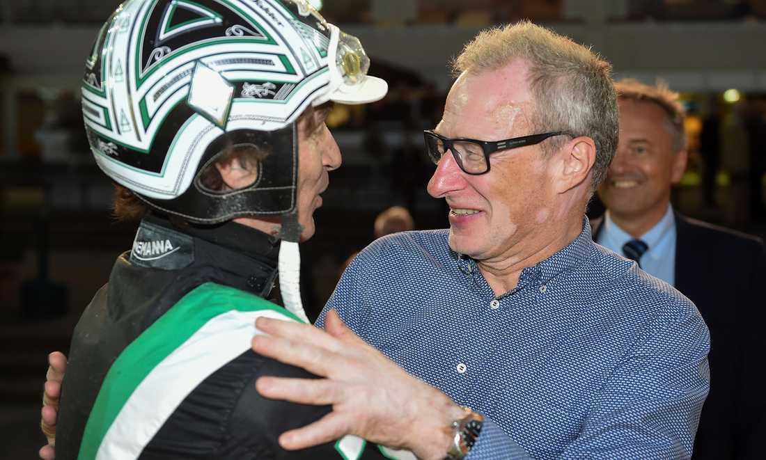 Toppkusken Johnny Takter och mentala coachen Stig Wiklund.