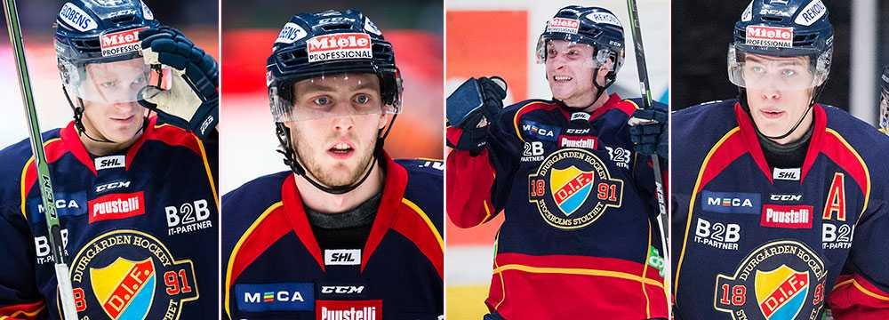 Marcus Sörensen, Robin Norell, Linus Hultström och Andreas Englund har skrivit NHL-kontrakt.