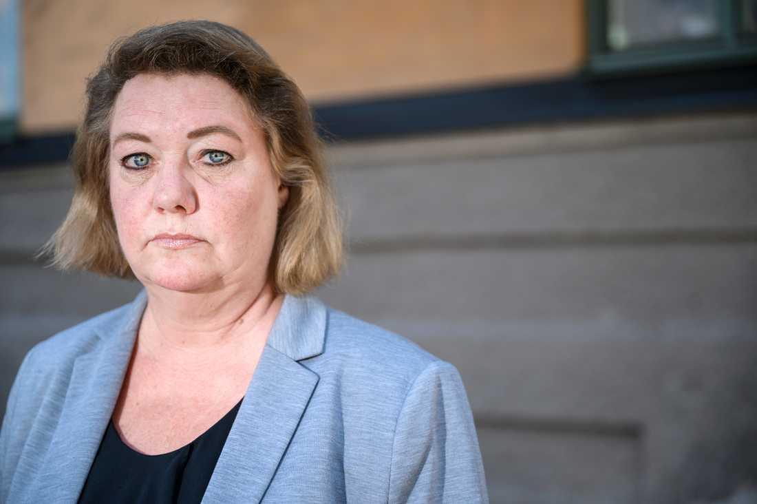 """Katarina Söderberg är kritisk till hur polisen har agerat gentemot familjen efter skjutningen: """"Det var ingen därifrån som hjälpte till med krisstöd. De har fortfarande inte hört av sig""""."""