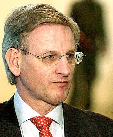 Carl Bildt bloggade igår från Tokyo.