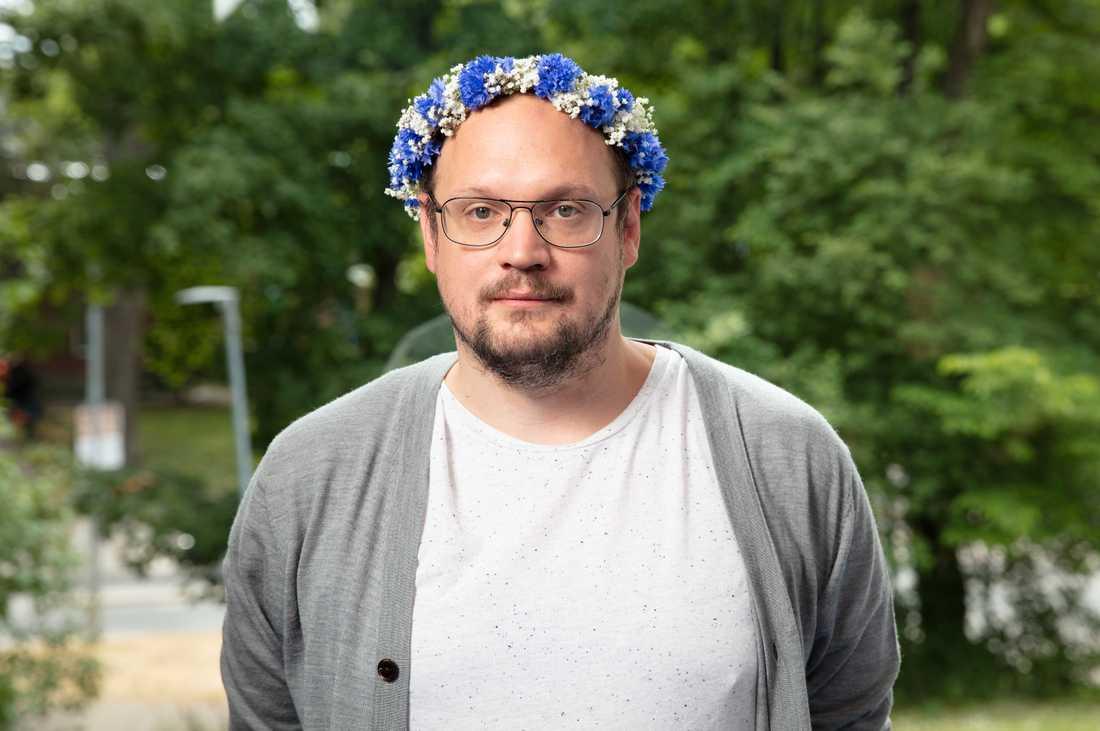 Jonatan Unge var en av årets sommarpratare.