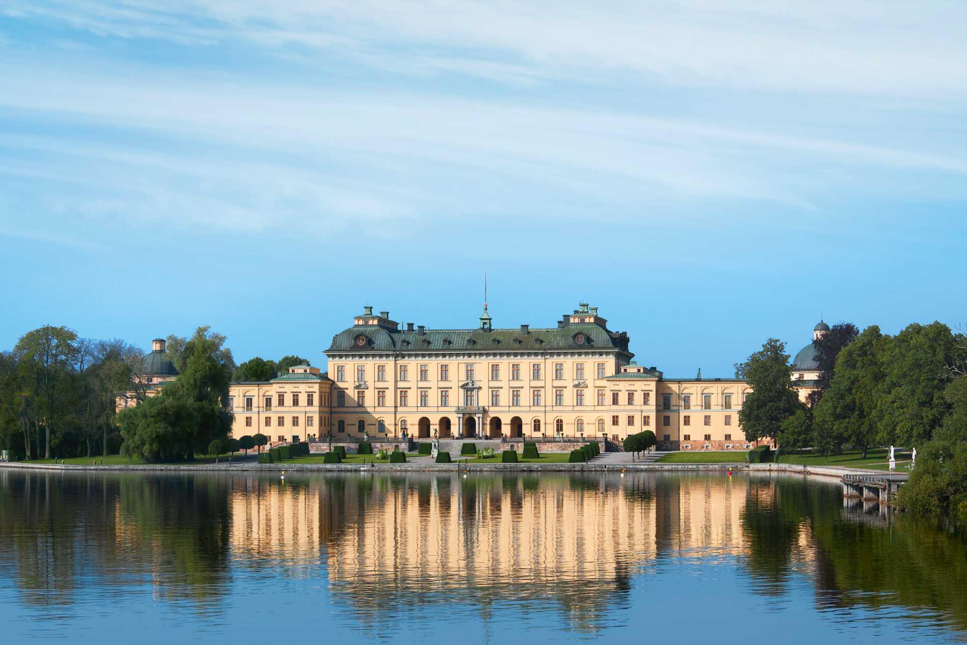 Drottningholms slott.