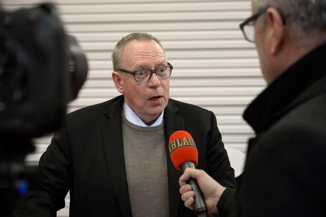 Kommunals kassör och tredje vice ordförande Anders Bergström.