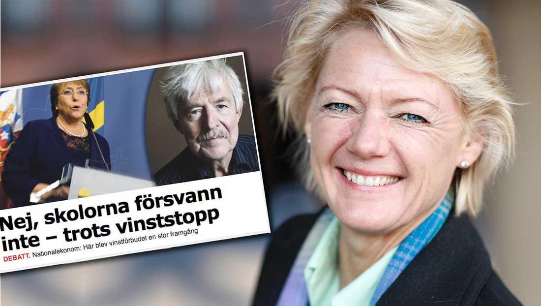 I de allra flesta länder måste man betala för att få sätta barnen i en bra skola. Så är det inte i Sverige, skriver debattören.