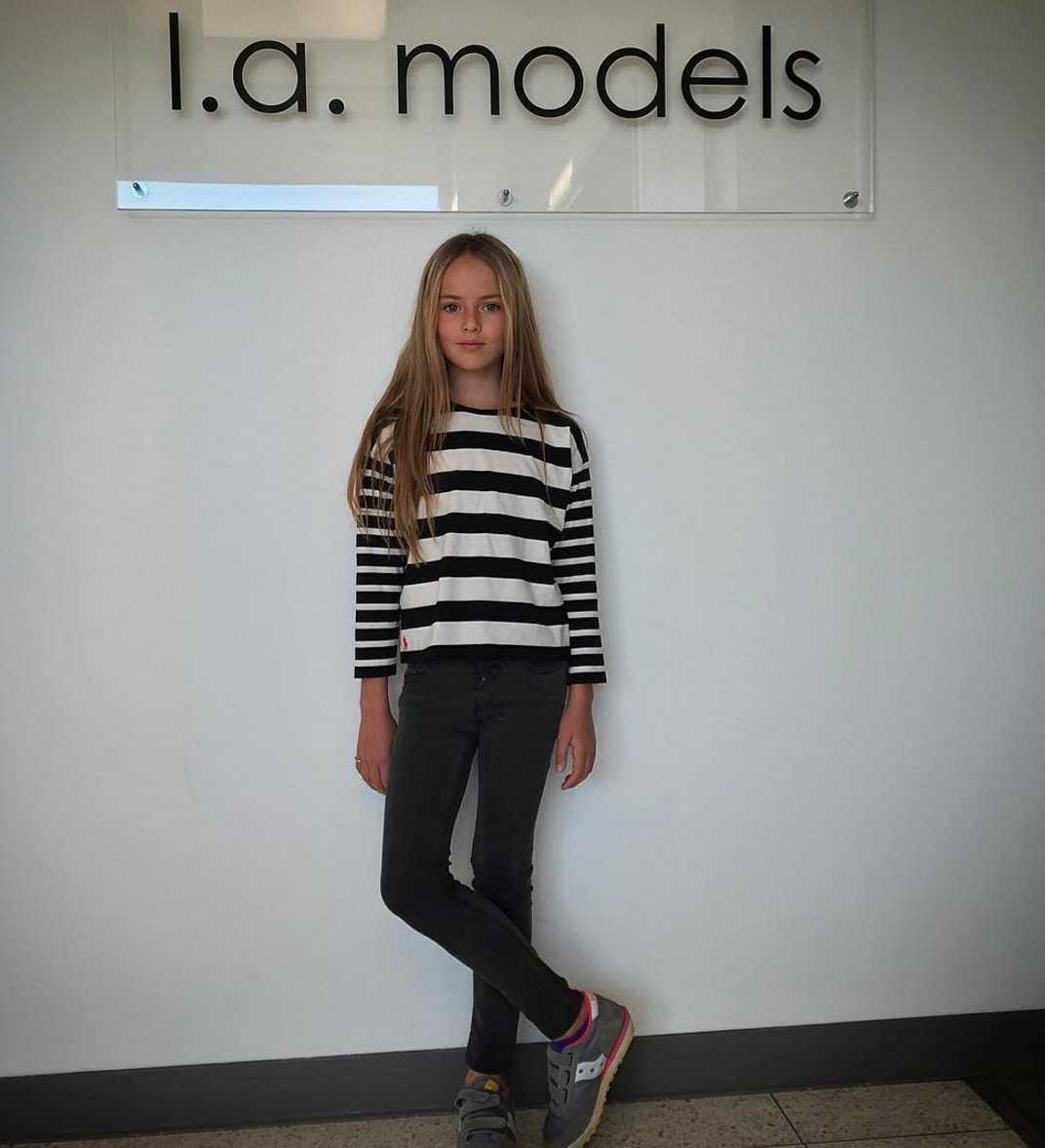 Kristina Pimenova har fått kontrakt med LA Models.