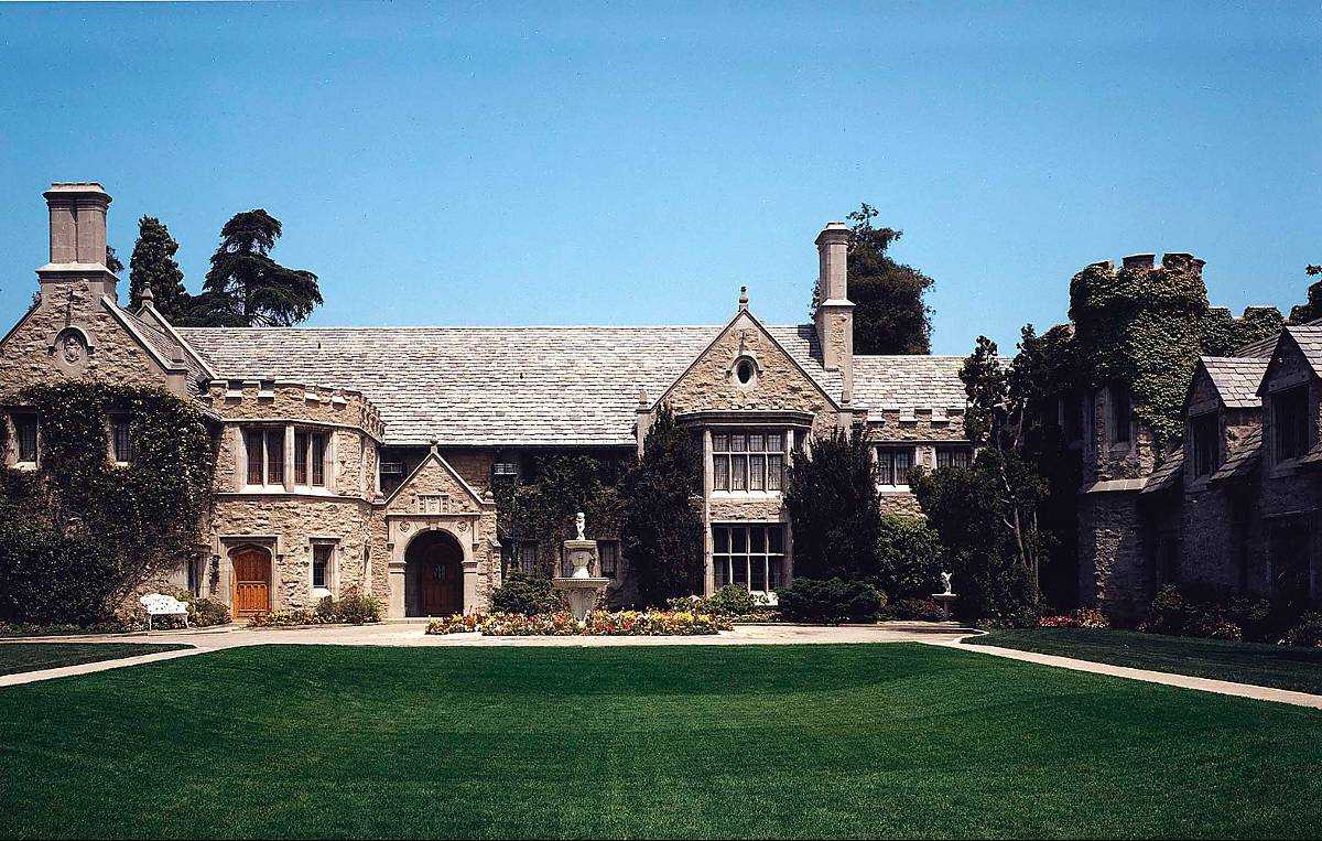 The Playboy Mansion.