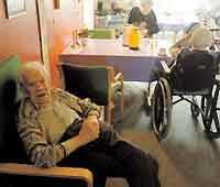Knapert inom äldrevården...