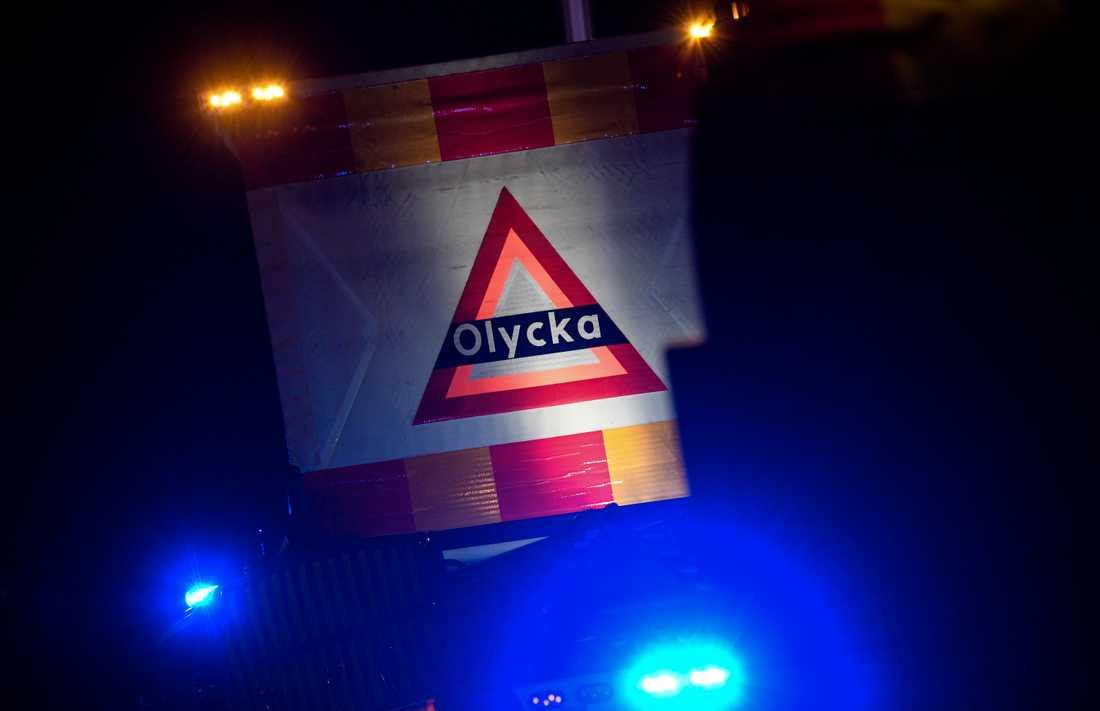 Olyckan inträffade på E45 strax söder om Orsa. Arkivbild.