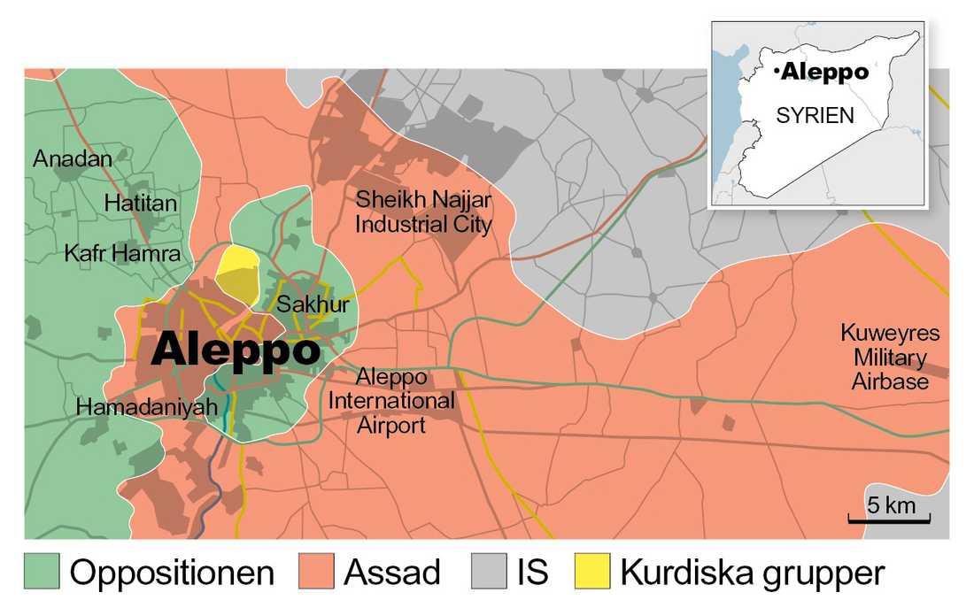 Aleppo 2016.