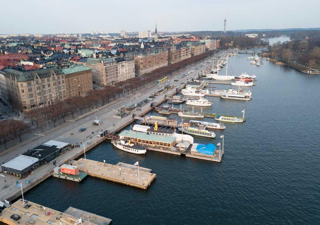 Landets högsta kvadratmeterpriser finns på Östermalm i Stockholm. Arkivbild.