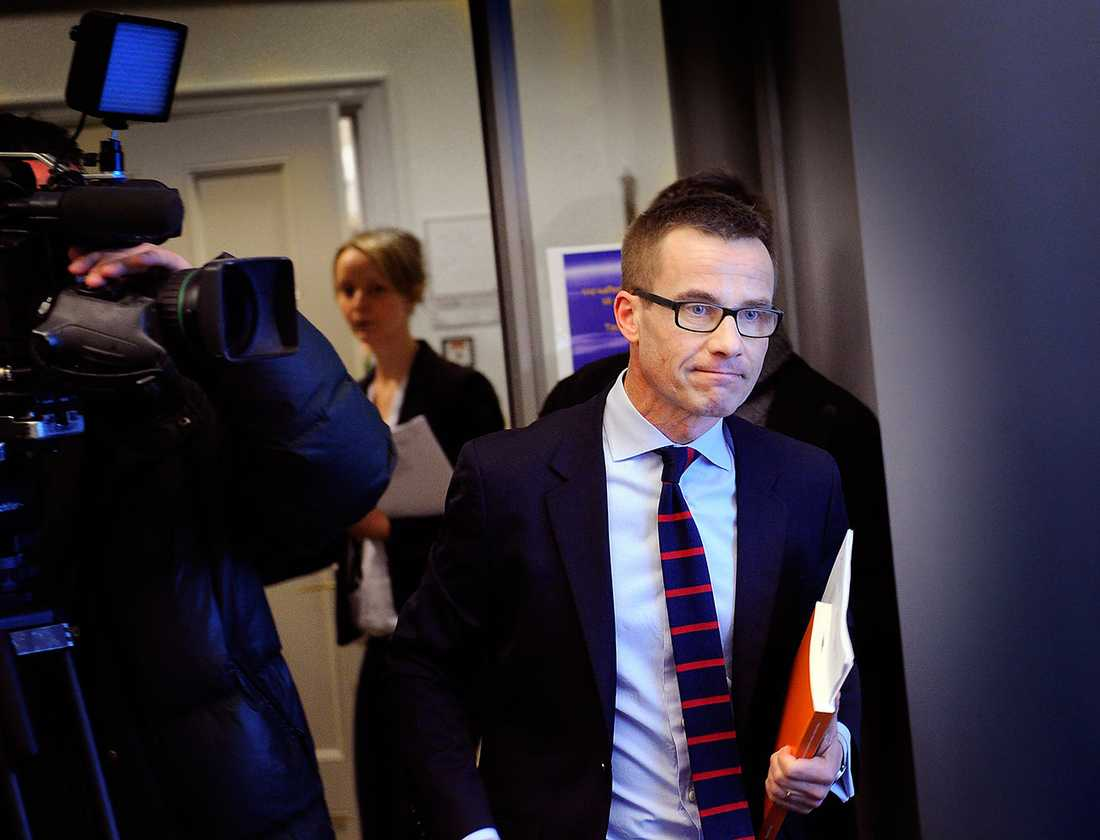 Ulf Kristersson (M), socialförsäkringsminister.