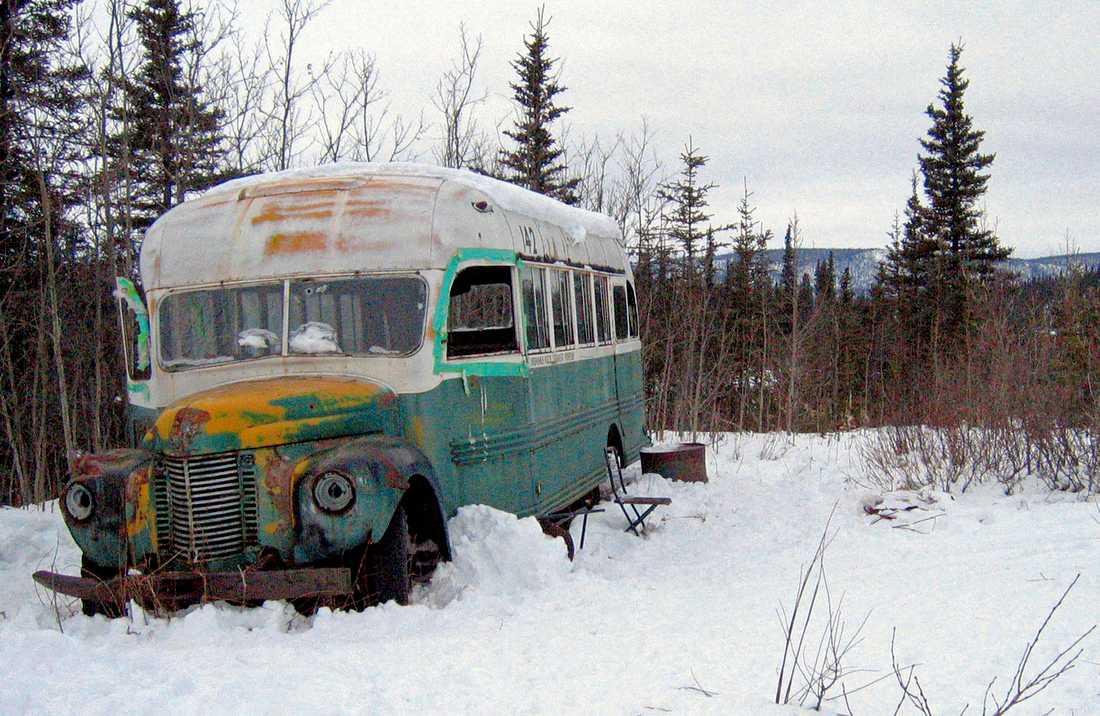 Bussen fotograferad 2006. Arkivbild.