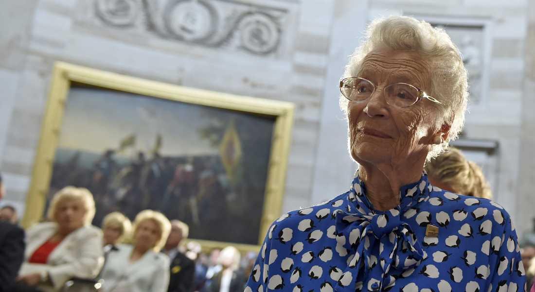 Nina Lagergren reste till Ryssland och Moskva, hon träffade KGB – och hon var en av få svenskar som fick träffa USA:s dåvarande president Barack Obama under hans besök i Sverige 2013.