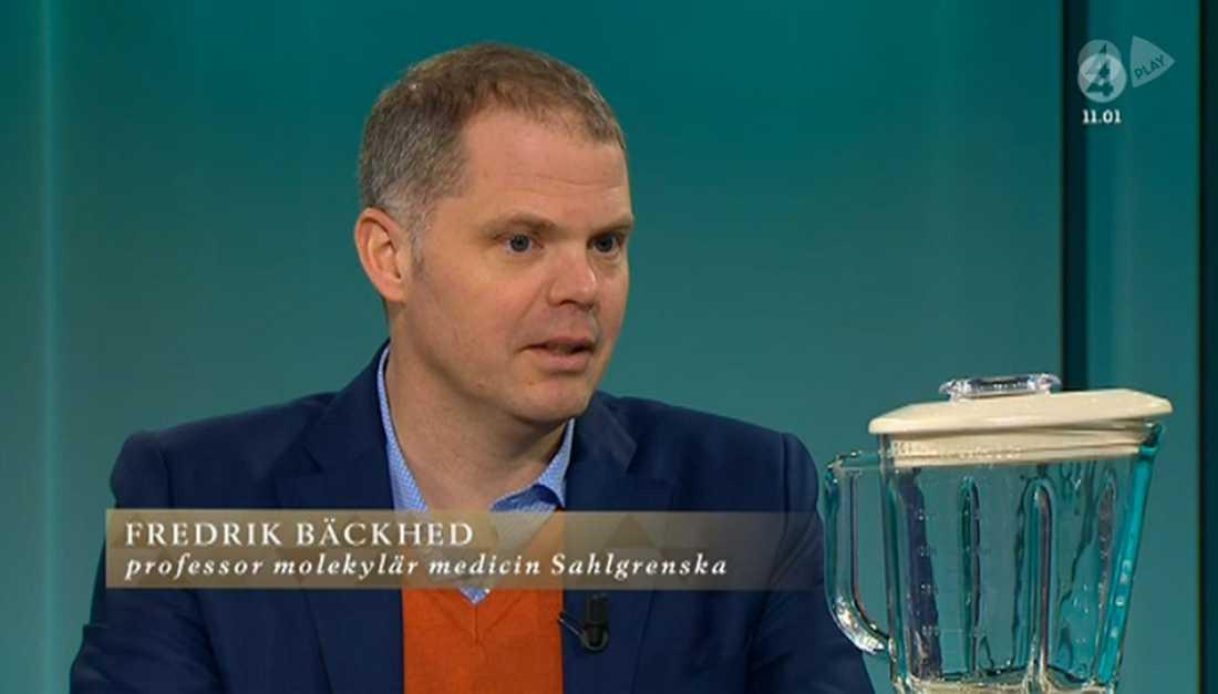 Fredrik Bäckhed, läkaren som prisar bajsets medicinska effekter.