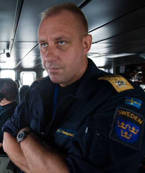 Marininspektör Jan Thörnqvist.