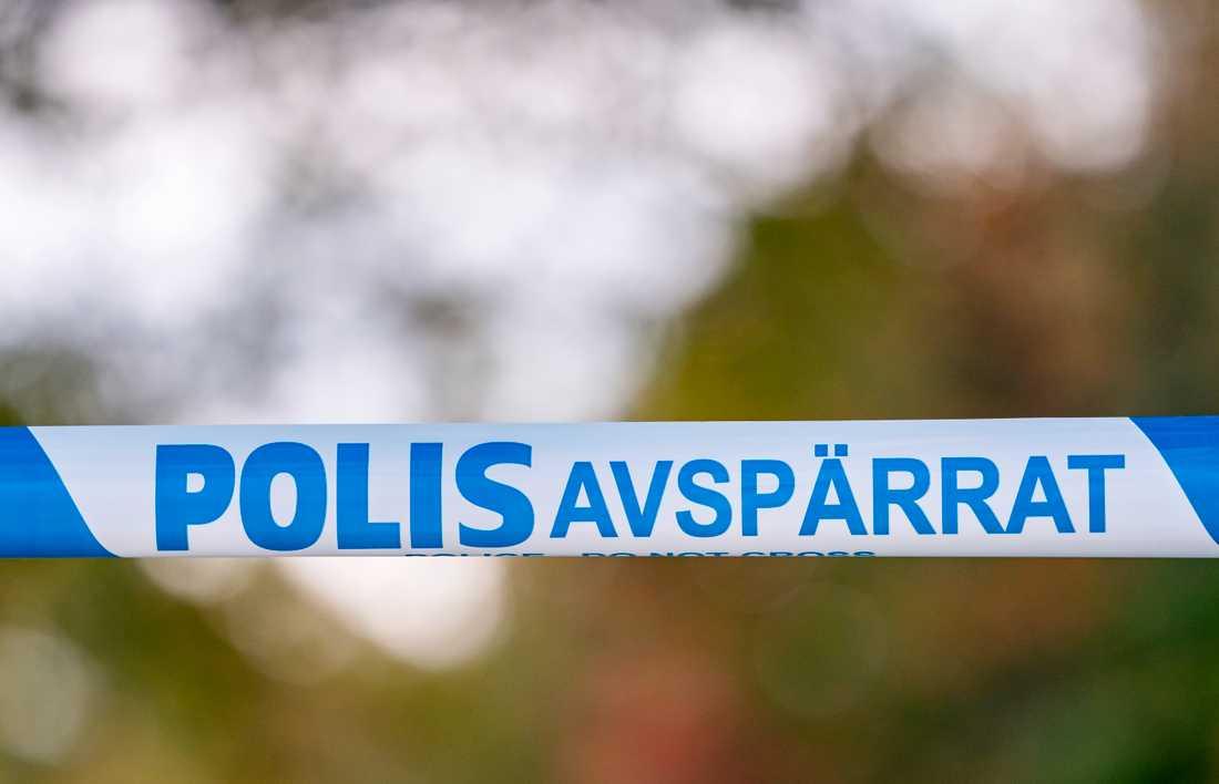 En person fick sitt finger avskuret i ett samhälle i Skellefteå kommun. Arkivbild.
