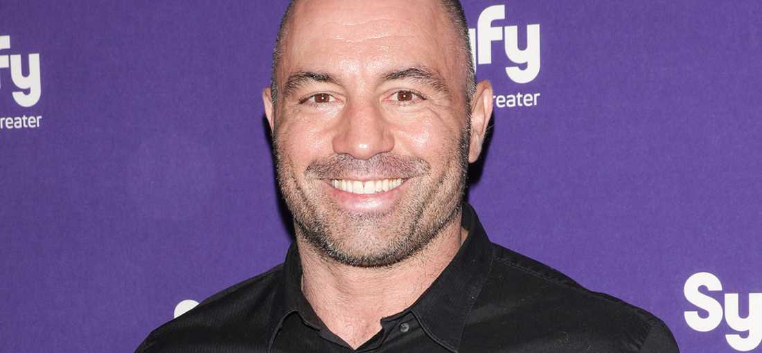 "Joe Rogan leder det mycket populära programmet ""The Joe Rogan experience""."