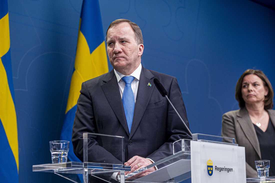 Stefan Löfven, statsminister.