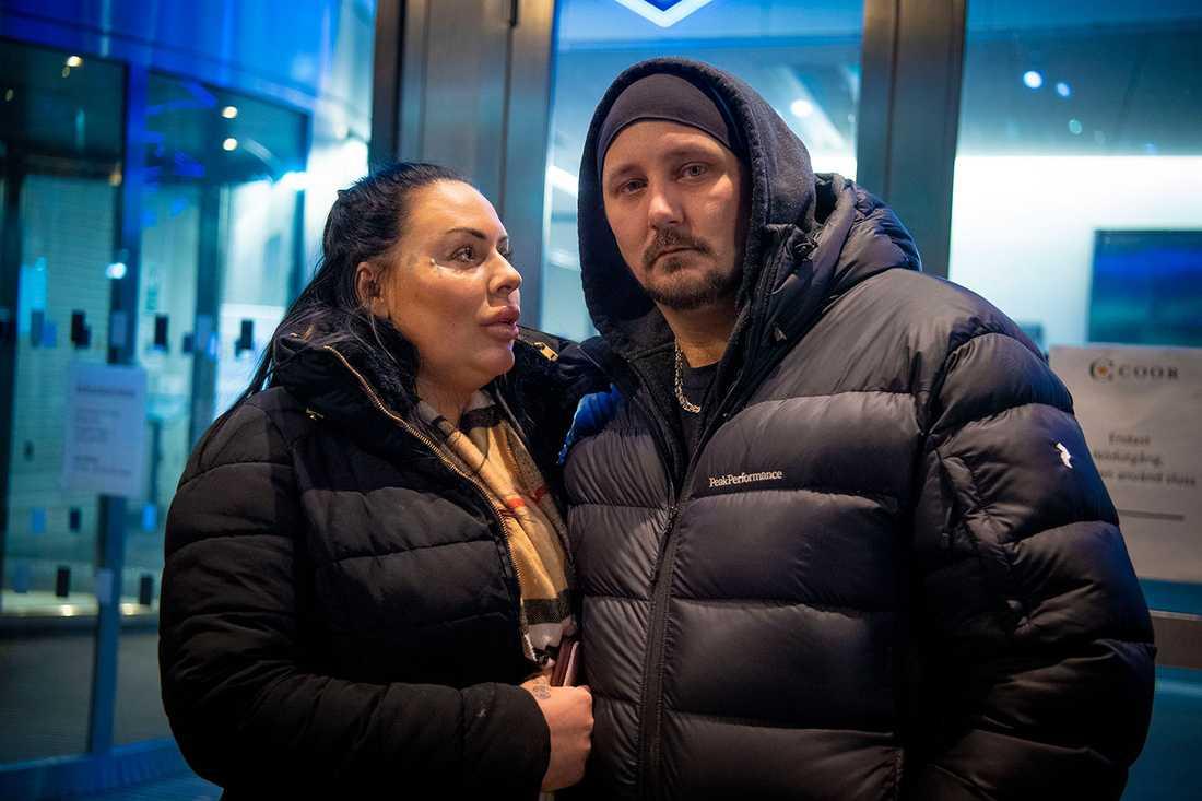 """""""Det är kanske 50 procents chans att hon överlever"""", säger pappa Anders."""