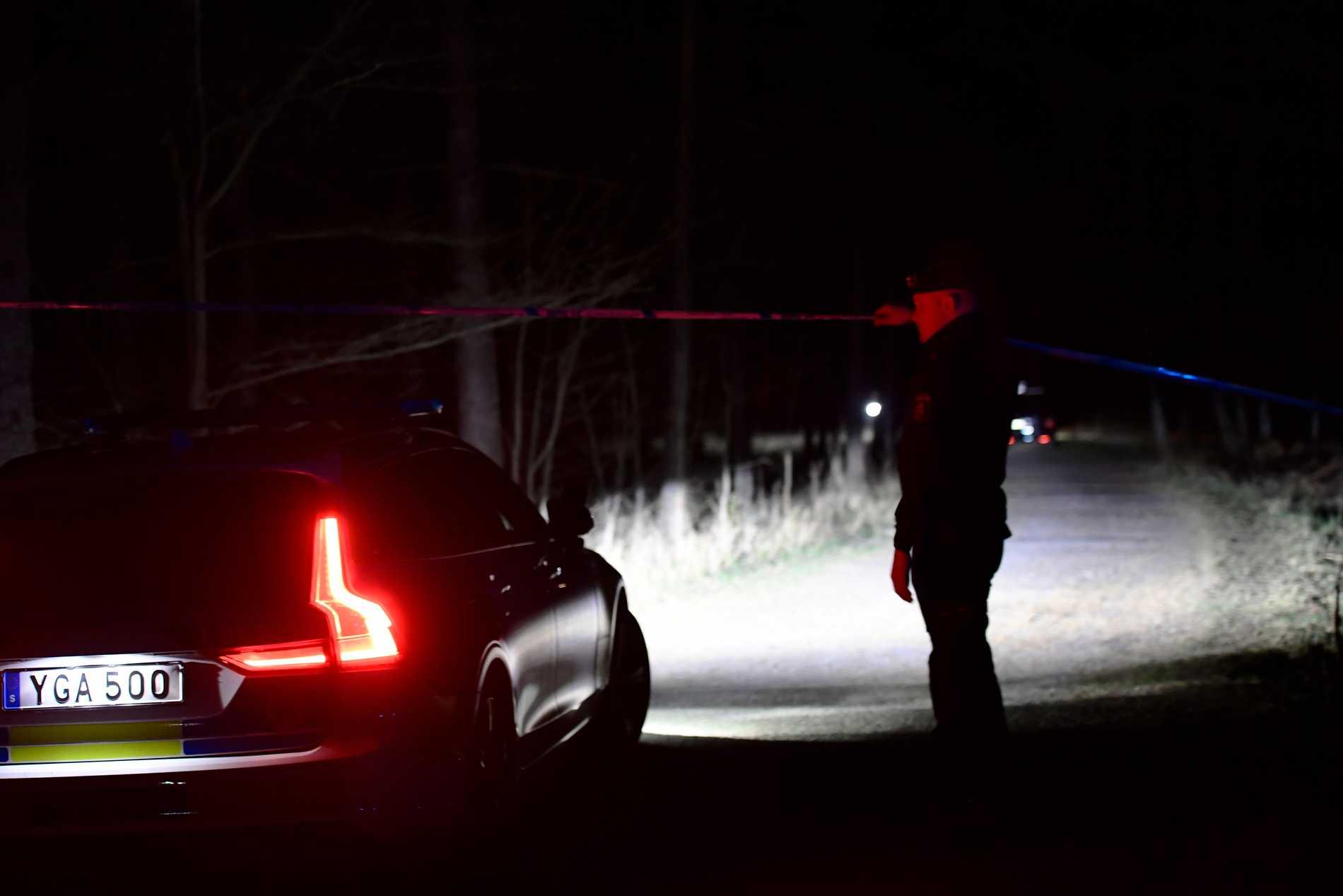 Polisen utreder mord.