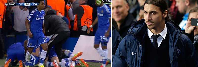 Demba Ba slog ut Zlatans PSG ur CL.
