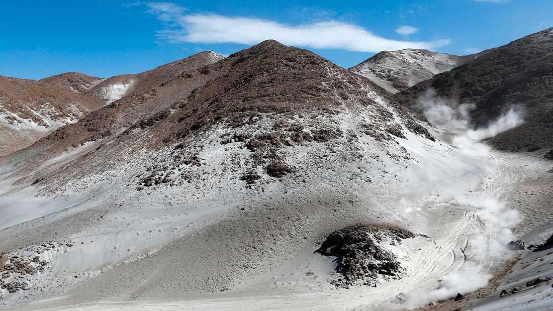 Arequipa-regionen i Peru.