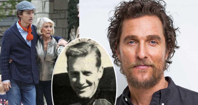 Matthew McConaughey: Pappa dog när han hade sex med mamma
