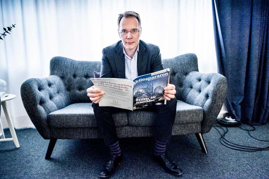 Joacim Olsson, vd för Aktieägarna.
