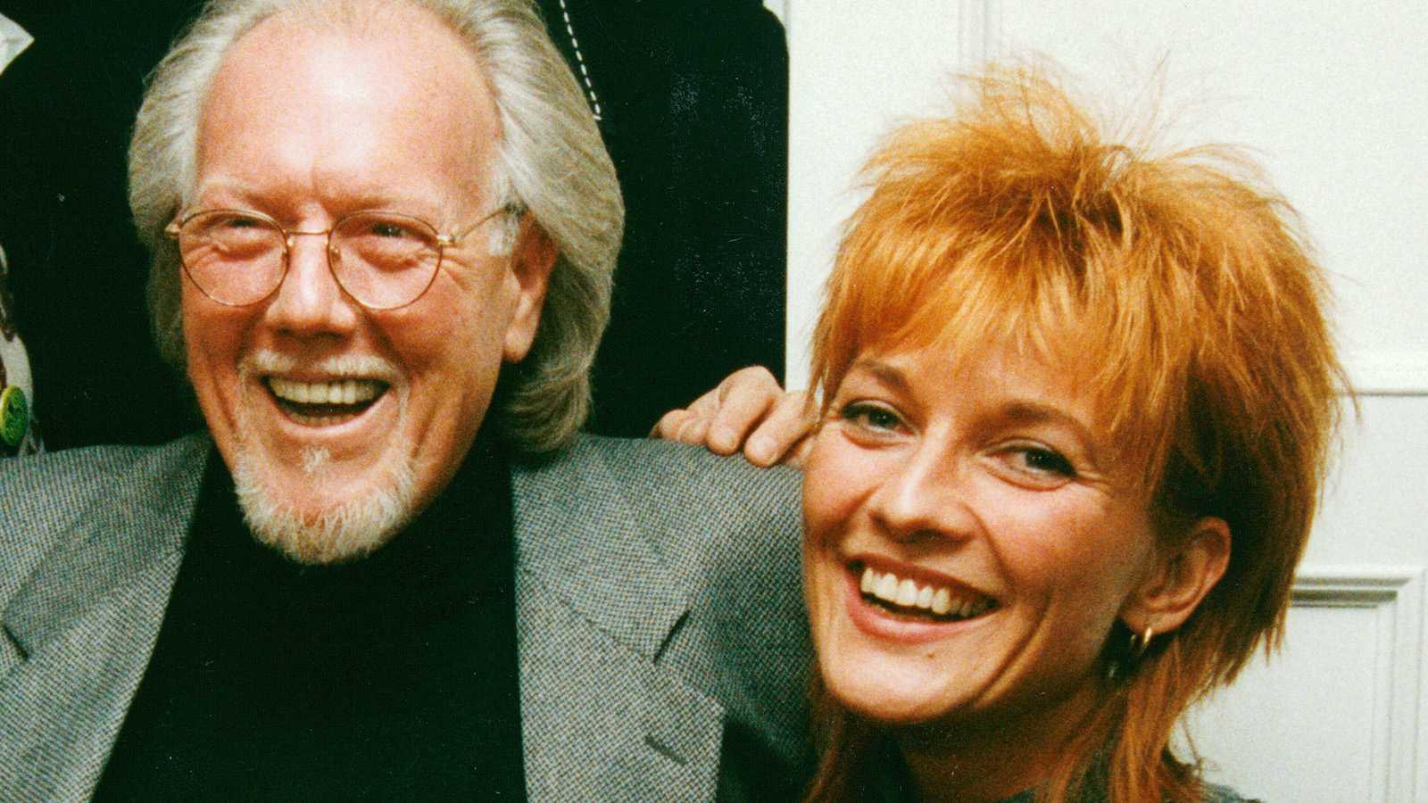 Svante Thuresson och Anne-Lie Rydé 1993.